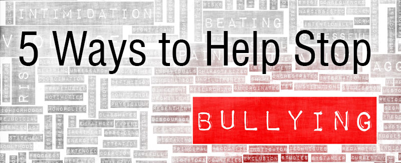 Help Stop Bullying Header
